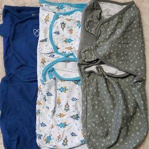 New swaddleme three pack size large